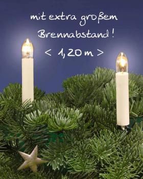weihnachtsartikel lichterkette 15 kerzen f r gro e b ume innen. Black Bedroom Furniture Sets. Home Design Ideas
